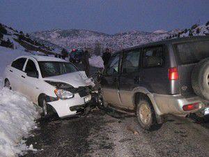 Derebucakta trafik kazası: 7 yaralı