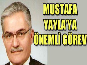 Mustafa Yaylaya yeni görev
