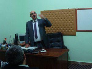 SÜ İletişim Fakültesi Dekanı Kalender seminer verdi