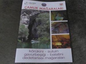 Derebucak mağaralarına 3 dilde tanıtım