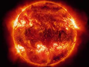 Güneşte yılın en şiddetli patlaması