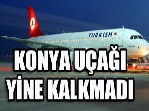 Konya uçuşları iptal