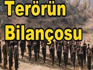 9 yılda kaç PKKlı öldürüldü?