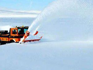 Konyanın dağ köyleri kar altında kaldı