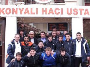 Konyaspordan Osman Tezcana teşekkür