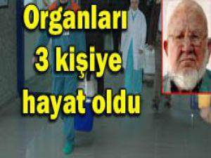84 yaşındaki dede organlarını bağışladı