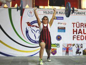 Konyadaki Halter Şampiyonası sona erdi