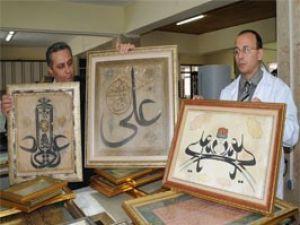 350 yıllık levhalar yeniden hayat buldu