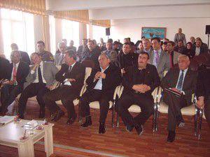 Altınekinde stratejik bölge planının ilk toplantısı yapıldı