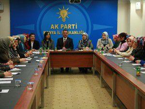 Hançerliden AK Parti Kadınlar Kollarına ziyaret