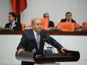 Baloğlu Meclisde konuştu