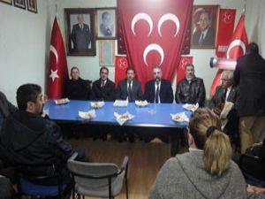 MHP İl Teşkilatı ziyareti sürüyor