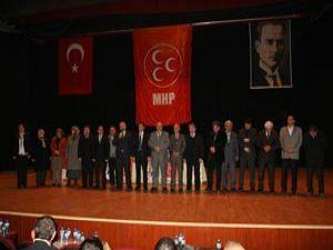 MHP Akşehir Bölge toplantısı yapıldı
