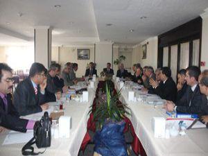 Konya Milli Eğitim Müdürlüğünde tanışma toplantısı