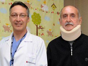 Boynunun kırıldığı 40 gün sonra anladı