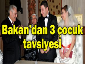 Bakan Yıldırım nikah şahitliği yaptı