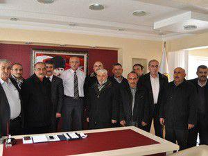 MHP Seydişehir İlçe Teşkilatından başkana ziyaret