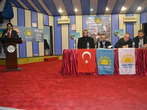 HAS Parti Altınekin kongresini gerçekleştirdi