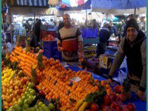Cadde ve sokaklarda pazara son