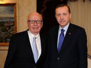Medya patronu Başbakanla görüştü