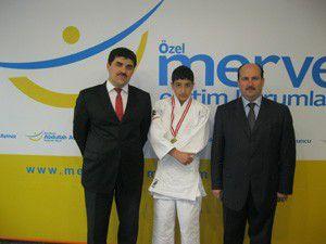 Selçuklu Abdullah Aymaz, judoda Konya 1. si