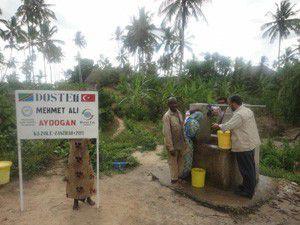 Afrikaya yapılan yardım yüzleri güldürüyor