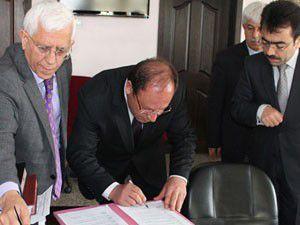 Hayati proje için imzalar atıldı