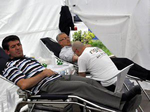 Akşehirde kan bağışı kampanyası