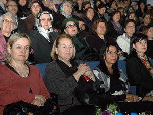 Selçuk Üniversitesi kadınlar günü programı