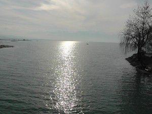 Beyşehir Gölünde sular yükseliyor
