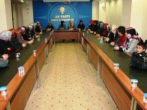 Kadınların en çok olduğu parti AK Parti