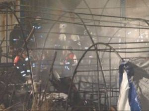 İşçi Barakasında Yangın: 11 Ölü