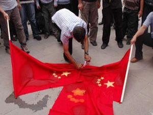 Konyada Uygur Türkleri için cenaze namazı