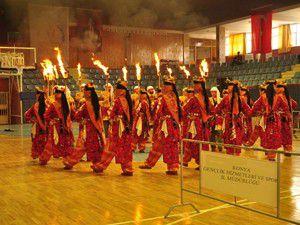 Halk Oyunları İl birinciliği yapıldı