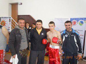 Genç kick boksçu 2. oldu