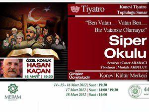 Meram Belediyesinden özel tiyatro gösterimi