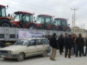 Traktörlerini yeniliyorlar