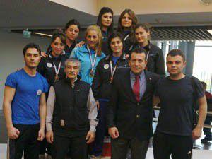 Selçuk Üniversitesi bilek güreşinde ödül aldı