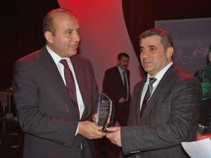Recep Konuk yılın yatırımcısı seçildi