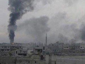 Suriyedeki bombalar Türkiyeden duyuluyor