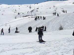 Konya Aladağda kayak keyfi