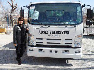 Adsız Belediyesine yeni çöp kamyonu