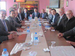 Akış belediye başkanlarıyla buluştu
