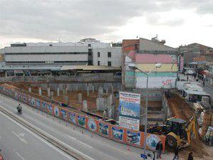 Karatayda yeni iş merkezi yapımına başlandı