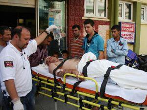 Lastik az kalsın 3 kişiyi öldürüyordu