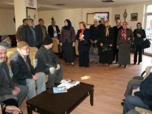 Karatay Belediyesi emekli konaklarını ziyaret etti