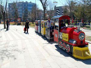 Konyalılar parklara akın etti