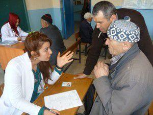 Gönüllü doktorlardan ücretsiz muayene