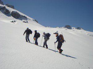 Dağcılar şehitler için tırmandılar