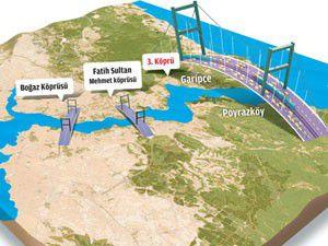 3. Boğaz köprüsü ihalesi 20 Nisana ertelendi